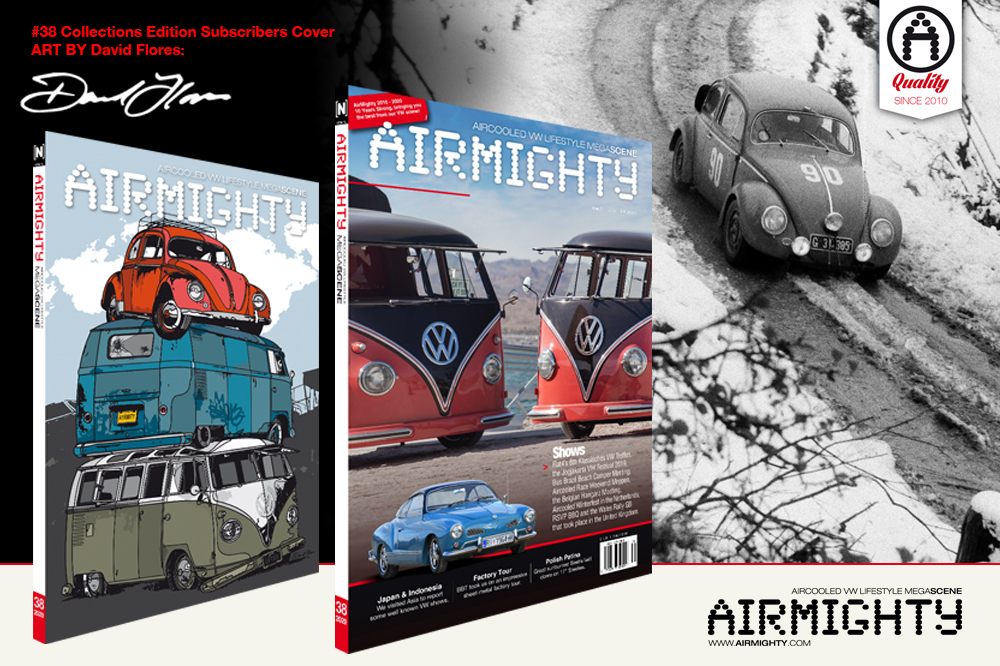 AIRMIGHTY MEGASCENE AIR COOLED VW LIFESTYLE MAGAZINE ISSUE # 26